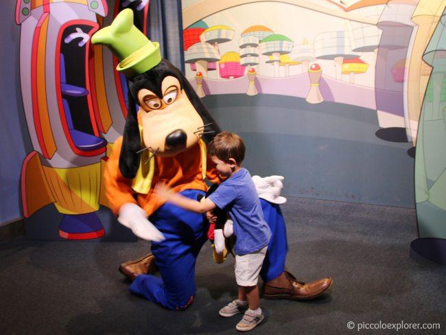 Goofy at Epcot Character Spot, Walt Disney World