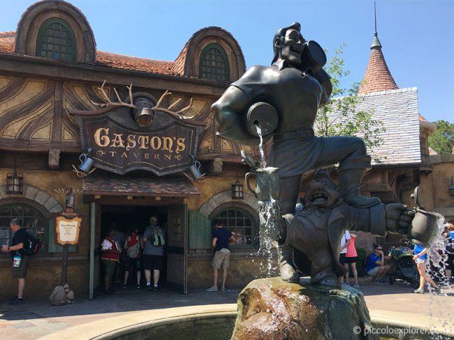 Gaston's Tavern, FantasyLand, Magic Kingdom, Walt Disney World