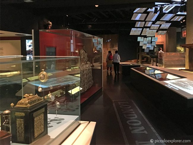 Gallery at Museum of London, City of London