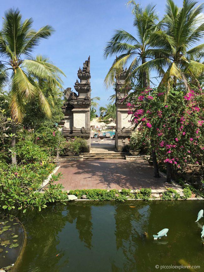 Resort Grounds, Padma Resort Legian, Bali