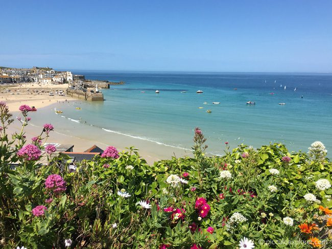 View of St Ives Harbour, St Ives, Cornwall