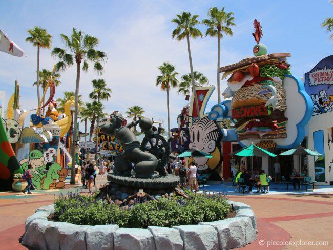 Toon Lagoon, Universal's Islands of Adventure, Orlando, FL