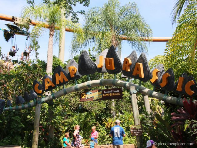 Camp Jurassic, Universal's Islands of Adventure, Orlando, FL