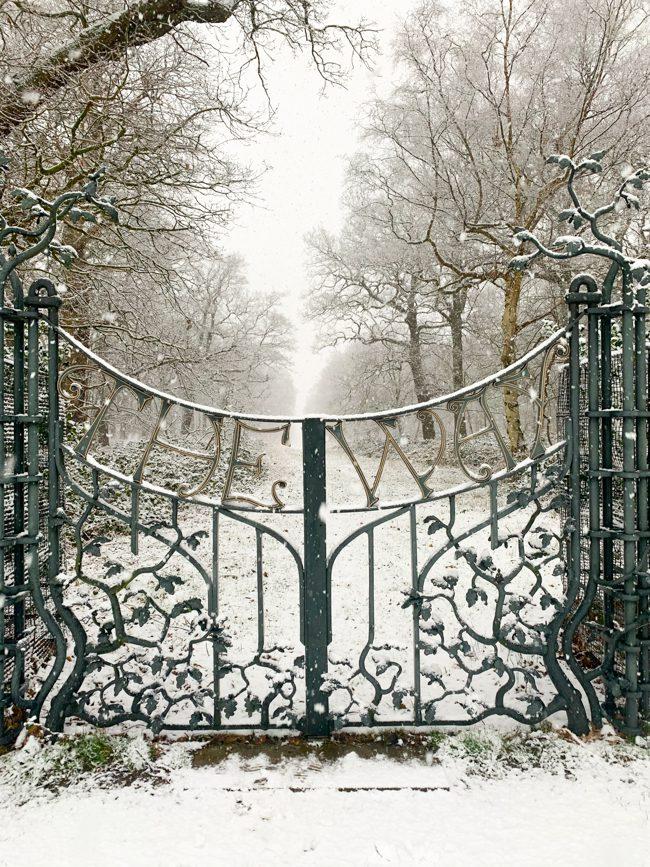 The Way gate, Richmond Park