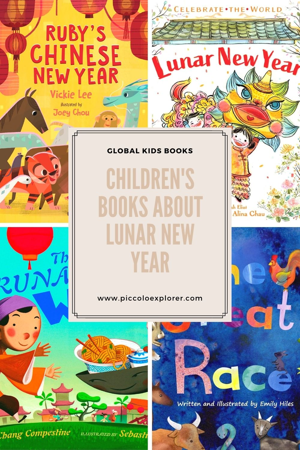Childrens Books about Lunar New YEar