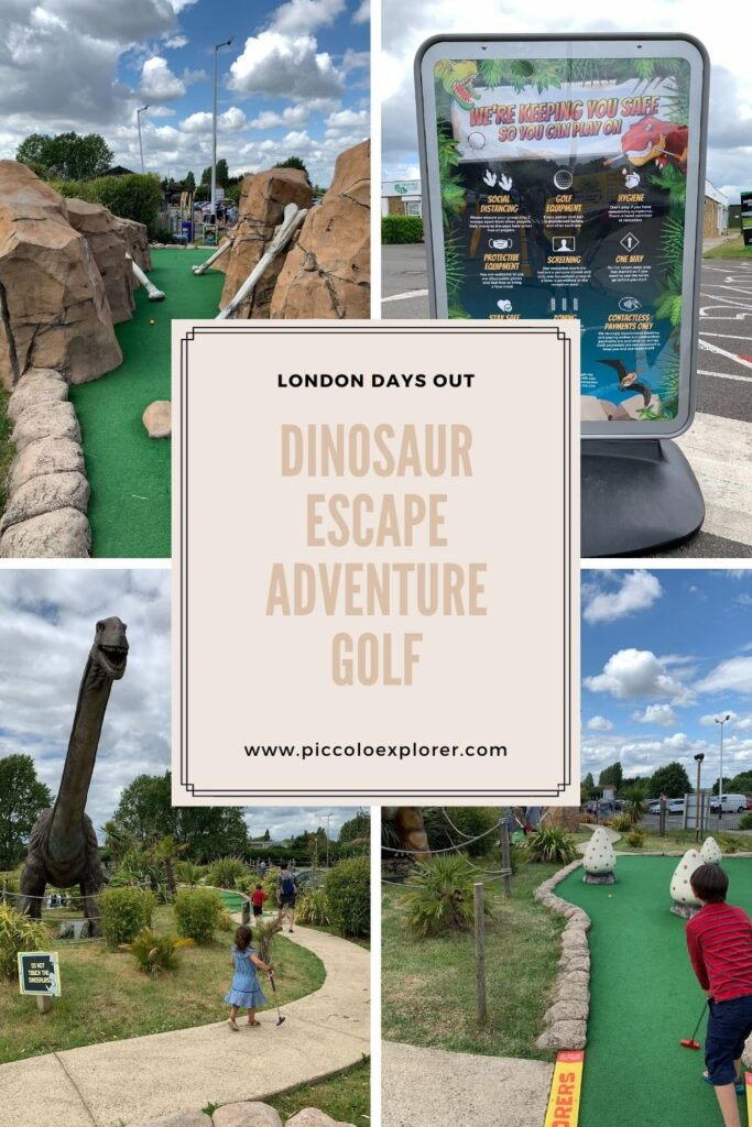 London day out adventure golf