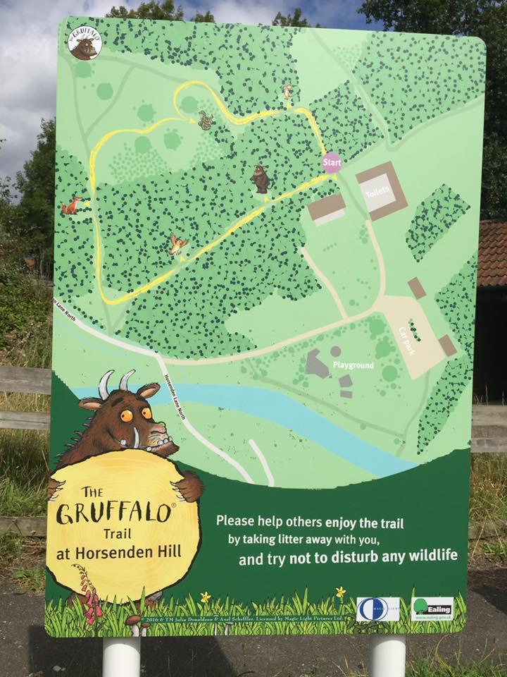 Gruffalo Trail Horsenden Hill Map