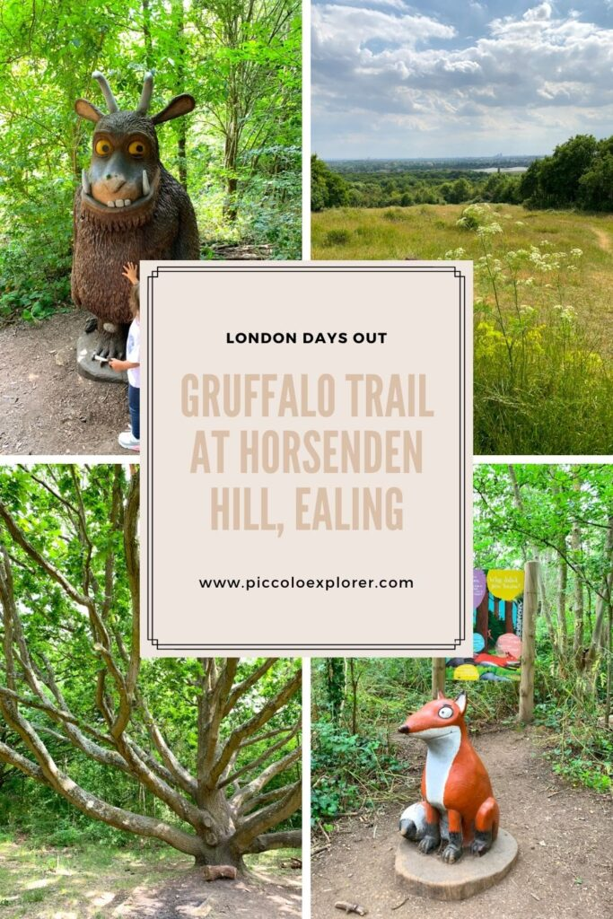 Pin - Gruffalo Trail at Horsenden Hill Ealing