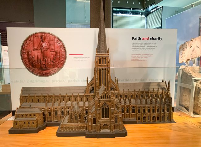 Medieval London at Museum of London