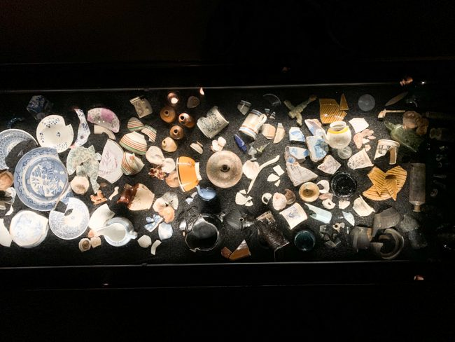 Artefacts found in the Thames River