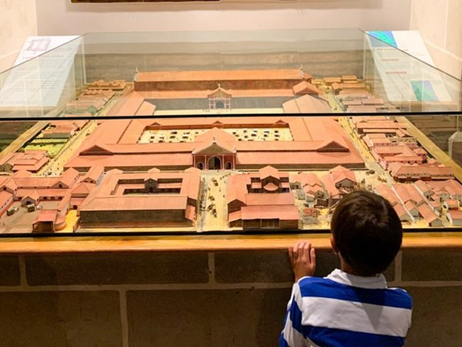 Museum of London with kids