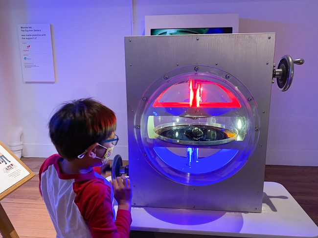 Wonderlab at the Science Museum London