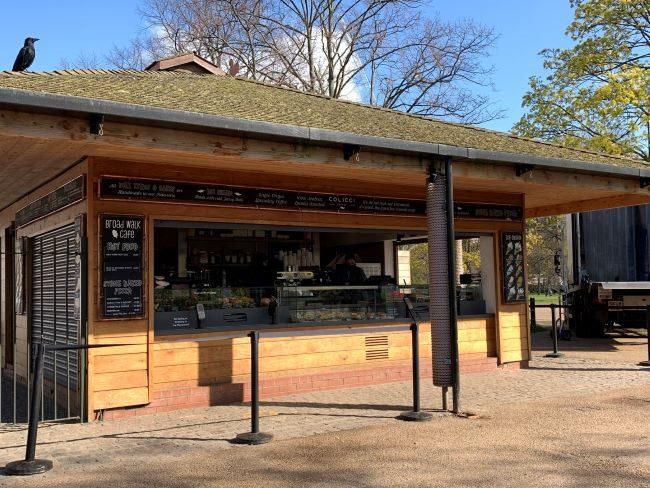 Broad Walk Cafe Kensington Gardens