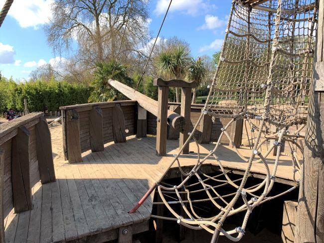 Pirate playground in Kensington Gardens