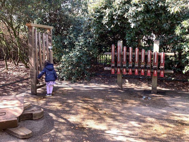 Music Play Area at Kensington Gardens playground