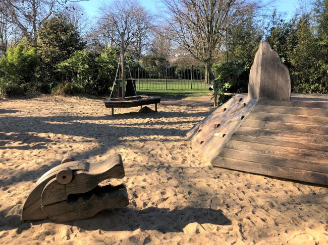 Toddler Play Area at Lady Diana playground