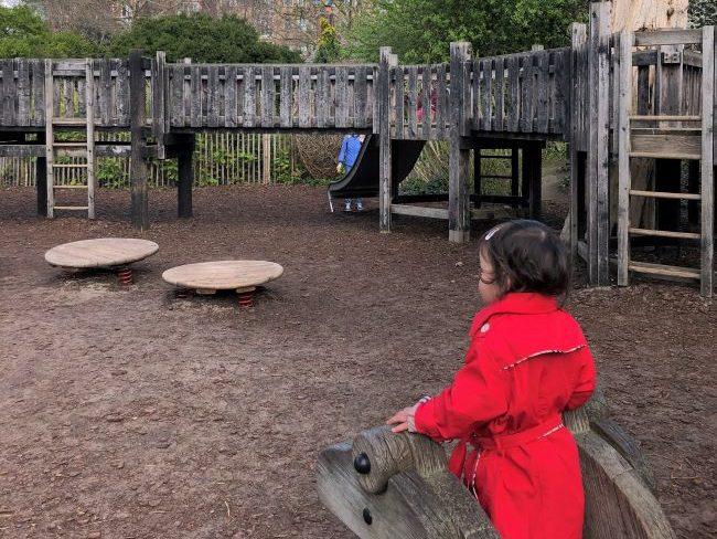 Playground in Kensington Gardens
