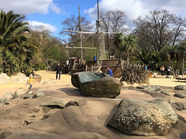 Pirate playground Kensington