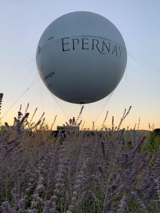 Epernay hot air balloon