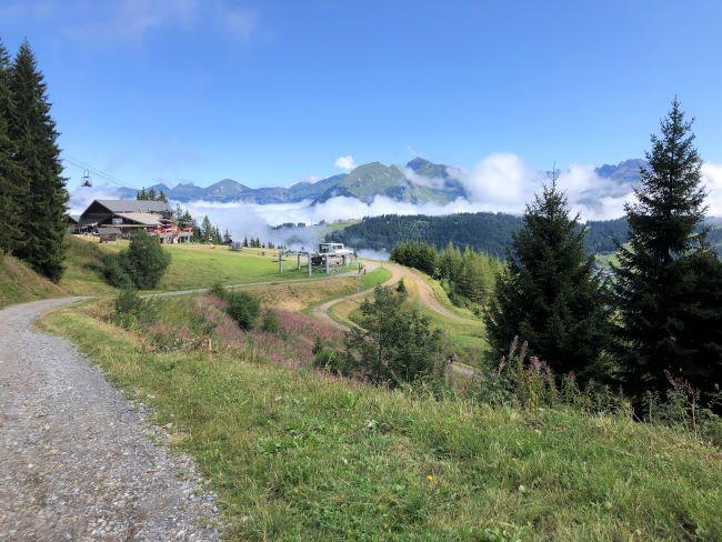 Les Gets hike to Les Chevrelles
