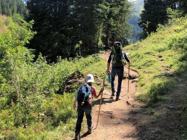 Hike from Les Linderets Morzine
