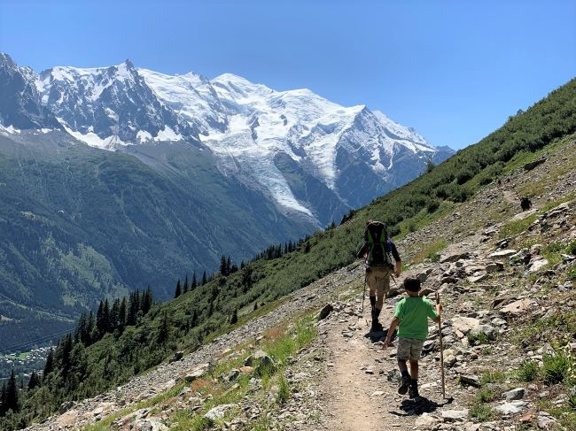 Family Hikes Chamonix