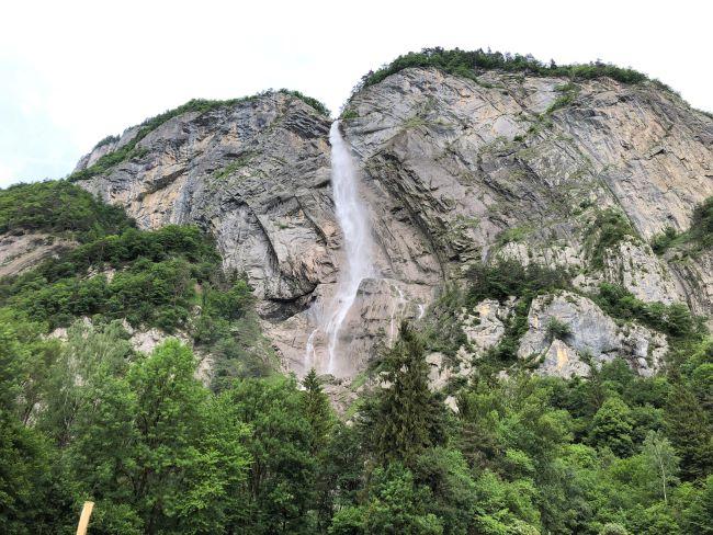 Cascade de l'Arpenaz Sallanches