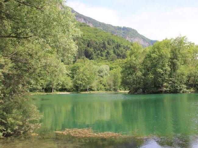 Family Hikes at Ilettes Lakes Sallanches