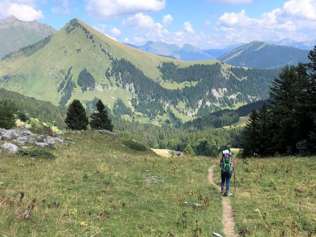 Family Hikes in the French Alps