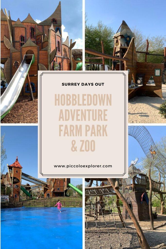 Hobbledown Adventure Farm Park Surrey