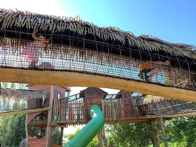 Play castle at Surrey farm park