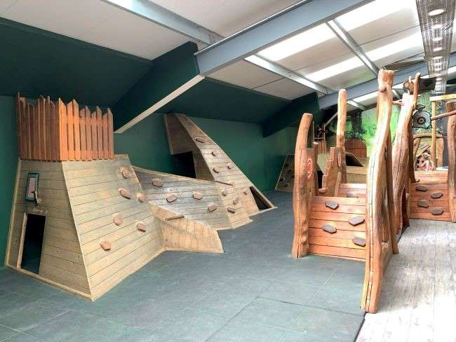 Hobbledown indoor playbarn