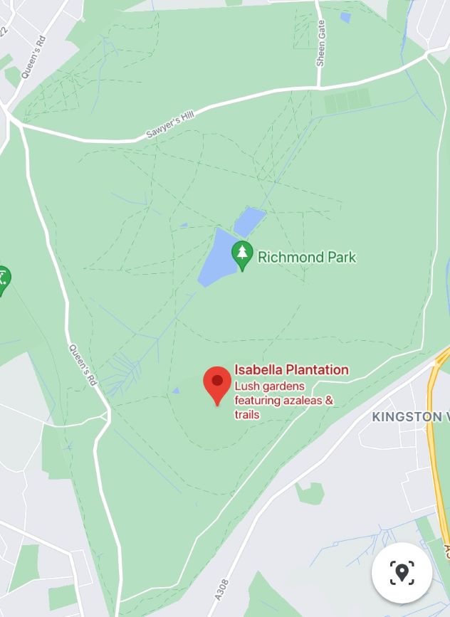 Where is Isabella Plantation in Richmond Park