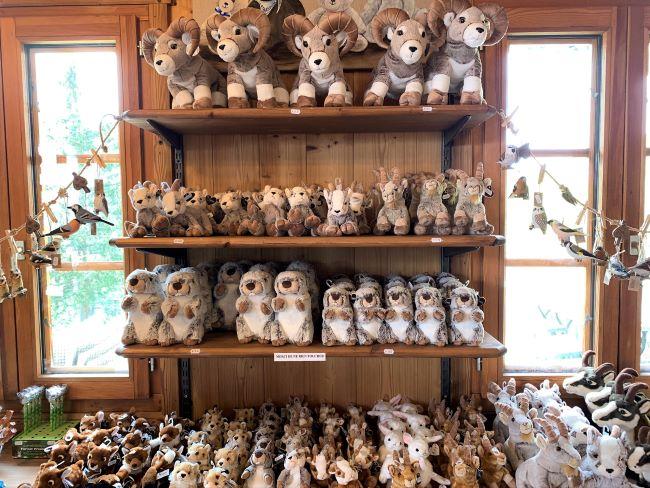 Merlet Animal Park gift shop