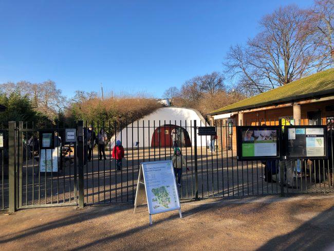 Entrance to Princess Diana Memorial Park