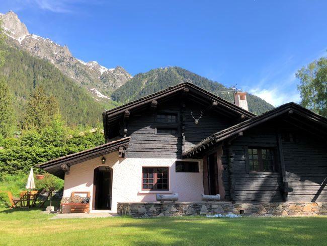 Chamonix Chalet in Summer