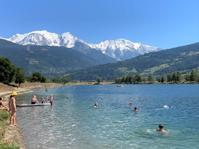 Lac de Passy Chamonix Valley