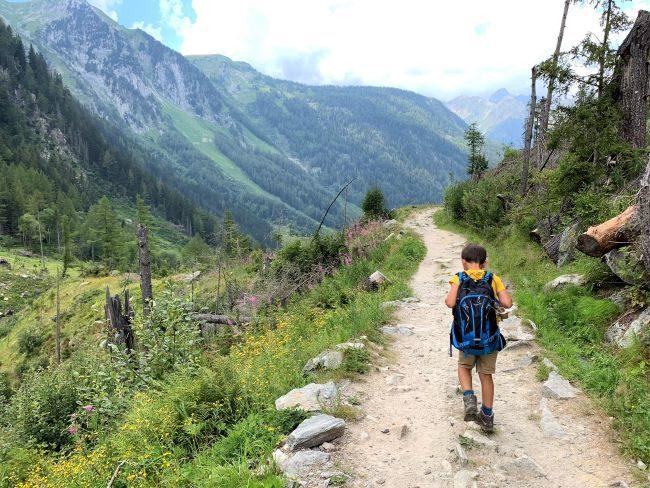 Bisse du Trient hike