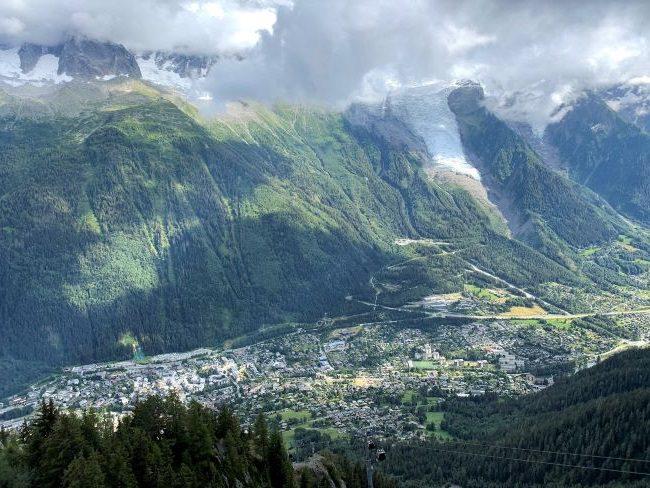 Brevent viewpoint Chamonix