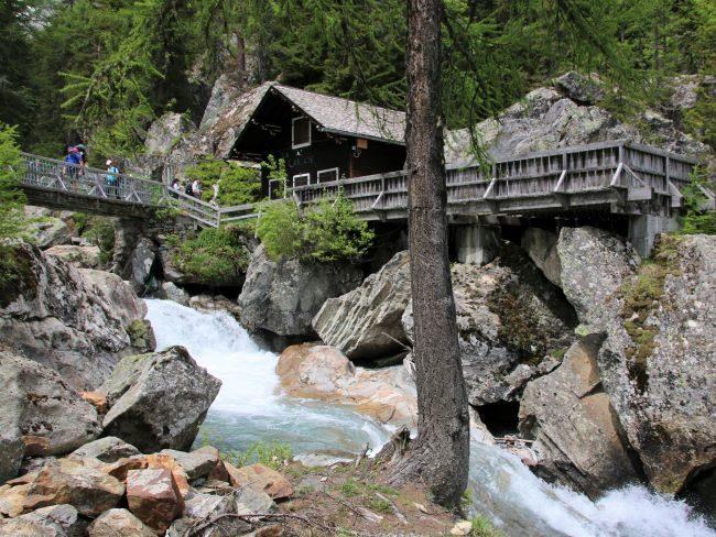 Cascade de Bérard café Vallorcine