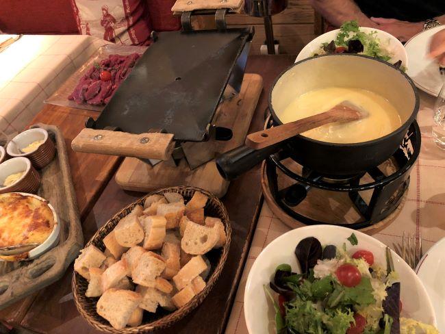 La Caleche restaurant Chamonix