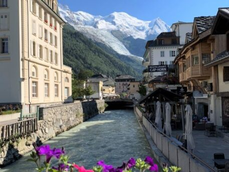 Visiting Chamonix in the summer