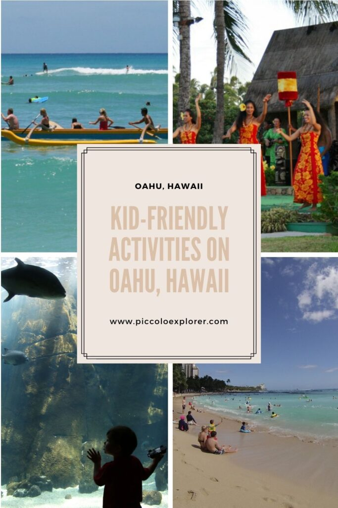 Things to do on Oahu with kids
