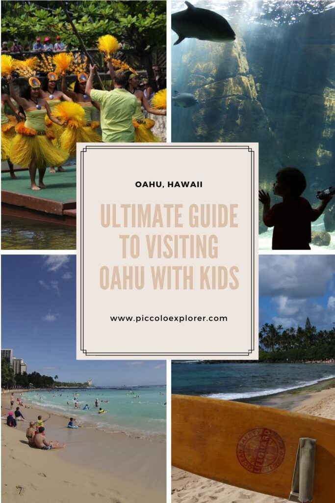 Ultimate Guide to Oahu with Kids