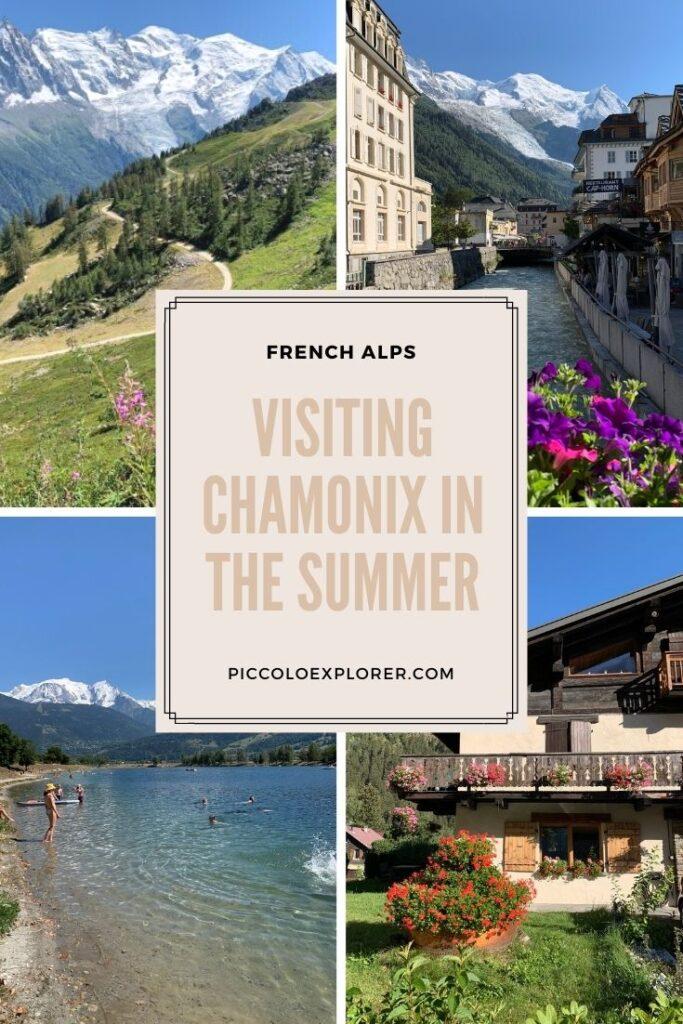 Visiting Chamonix in Summer