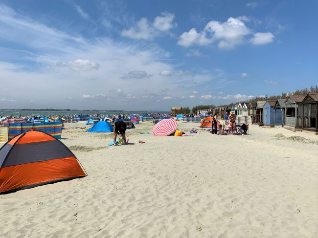 Beach at West Wittering