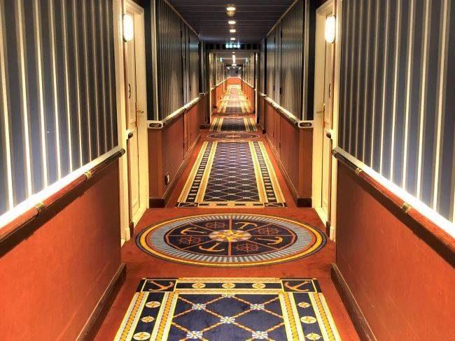 Nautical decor at Disney Paris hotel