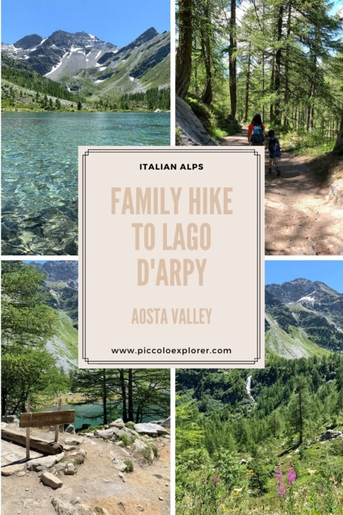 Family Hike to Lago d'Arpy Aosta Valley