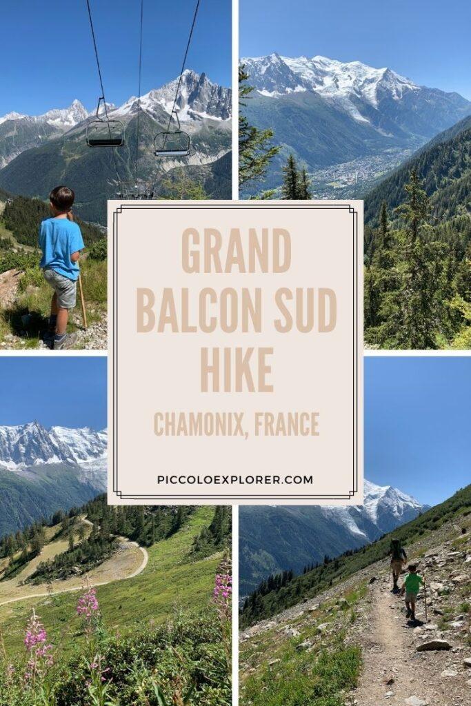 Family Hike Grand Balcon Sud in Chamonix