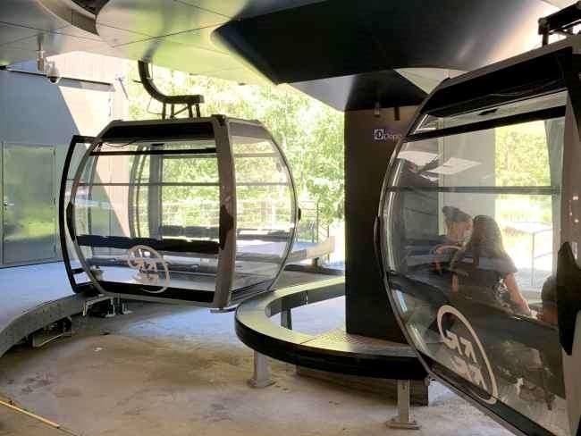 La Flegere gondola ride Chamonix